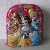 Дошкольный рюкзак  для девочки с объёмным изображением