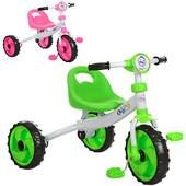 Трехколесный велосипед Profi kids (M 3254) с пенополиуретановыми колесами