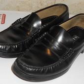Туфли мокасины лоферы Next натуральная кожа. Размер 41 (27см)