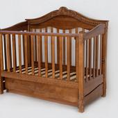 Детская деревянная кроватка - диван Viva  Victoria. От производителя