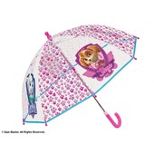 Зонтик Щенячий патруль Perletti розовый прозрачный