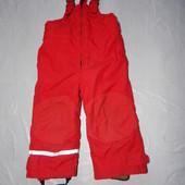 р. 92-98, полукомбинезон термоштаны H&M, Швеция, зимние штаны