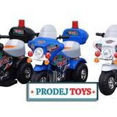 Электромотоцикл детский 6 V, 4.5Ah, 25W
