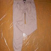M-L, поб 48-50, зауженные летние брюки Internacionale внизу на манжете