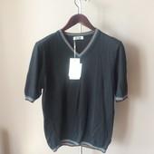 Мужская футболка черная XL