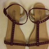 Фирменные сандалии босоножки Dorothy Perkins р.38 стелька 24,5 см