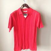 Мужская футболка красная М