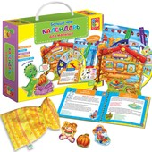 Больше чем Календарь для малыша VT2801-08, игры с мешочком, липучки, лото, загадки, стишки, сказки