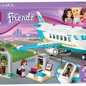 Конструктор Bela Friends 10545 Частный самолет (аналог lego Friends 41100), 236 дет.