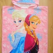 Полотенце с Эльзой и Анной