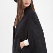 Накидка, пончо, пальто женское Forever 21, новое с биркой куплено в США