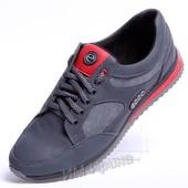 Кроссовки кожаные ECCO Grey