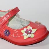 Lilin арт. TZ221 coral туфли для девочек.