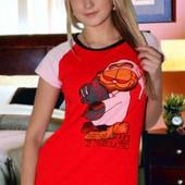 Женская пижама (футболка+шорты)