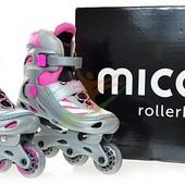 Качественные ролики для мальчика и девочки Mechanics Spokey Mico