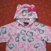 Флисовый взрослый человечек-пижама Love to Lounge Китти размер 10-12 (S), б/у. Общее состояние хорош