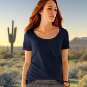 Комфортная и модная футболка, евро р-р 36-38 (наш 42-44), tcm, tchibo, Германия