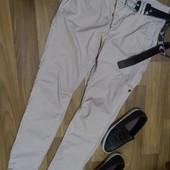 мужские джинсы-чинос   р.L
