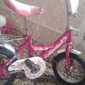 Велосипед для принцесс 4-6 лет
