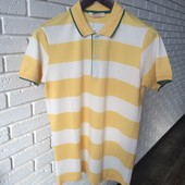 Мужская футболка желтая s m xxl