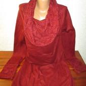 Шикарное женское теплое платье Per Una  на пышные формы!!!!!