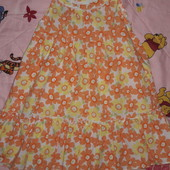 Летнее платье на 2-3 года