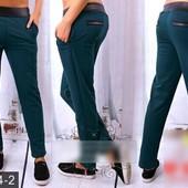 Размеры 42-52 Стильные яркие женские брюки