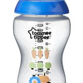Бутылочка для кормления декорированная 340 ml Tommee Tippee 42269787 Великобритания голубой 12121713
