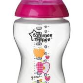Бутылочка для кормления декорированная 340 ml Tommee Tippee 42269887 Великобритания розовый 12121714