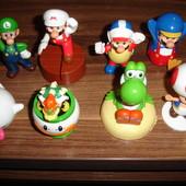 Коллекция Марио из Макдональдса