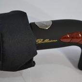 Качественный добротный мужской зонт полуавтомат Антиветер, 10 спиц карбон