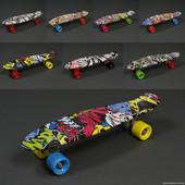 Скейт Пенни борд 822 с принтом Penny Board