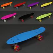 Скейт светятся колёса Пенни борд (Penny board) пениборд Profi