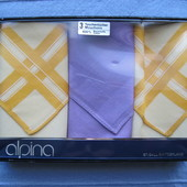 Alpina St. Gall мужские платки набор Швейцария