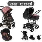 Универсальная коляска 3 в 1 Be Cool Quantum Cocoon Zero лимитированные цвета