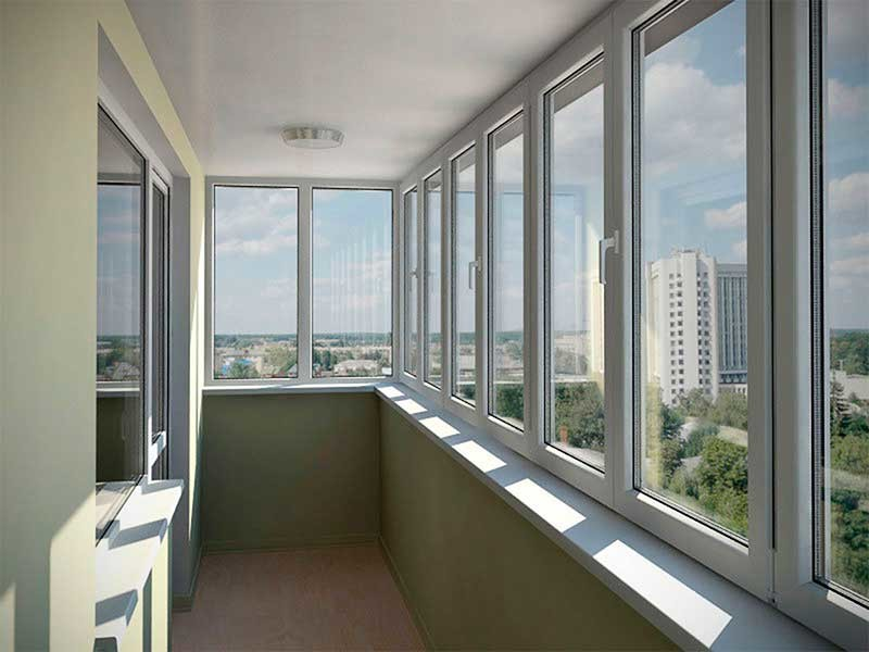 Балконы и лоджии: остекление, утепление, объединение с комна.