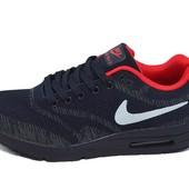 Кроссовки мужские Nike 9317 Синие (реплика)
