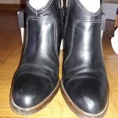 Ботинки-ботильены кожаные GEOX