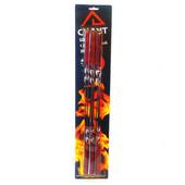 Шампура 6шт 45*1см с деревянной ручкой в блистере 0720