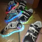 Led usb светящиеся кроссовки