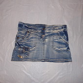 xxxs-xxs, поб 40-42, юбка джинсовая Fashion Jeans очень стильная