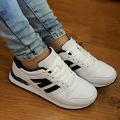 белые кроссовки р. 36-41