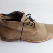 ботинки черевики натур замша р 45