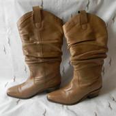 Женские кожаные сапожки Shoe Tailor р.5 дл.ст 25,5см