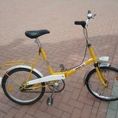Велосипед городской двухколесный Wigri складной Польша