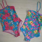 Красивые и яркие купальники для девочки Рост 146.