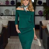 Стильное платье с карманами много цветов