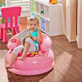 Детское надувное кресло Intex 48508 , Hello Kitty