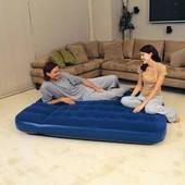 Кровать надувная Bestway Flocked Air Bed Double 67225(191x137x22 см.)
