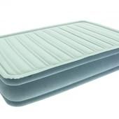 Bestway Надувная велюр-кровать 67490 с встроенным насосом